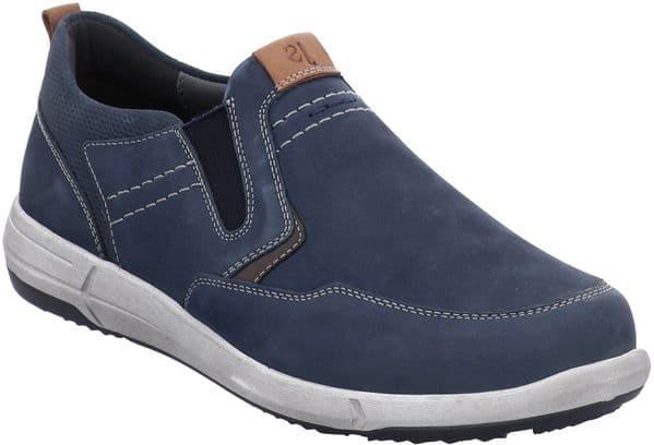 Josef Seibel Enrico 04 Slip On Mens Shoes Blue